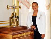 Christiane Taubira, Garde des Sceaux, ministre de la Justice.