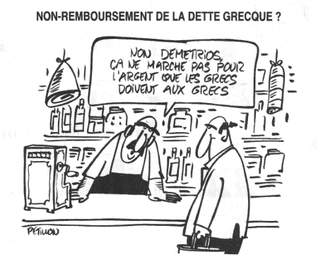 Non-remboursement de la dette grecque ?