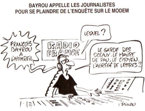 Bayrou et Radio France
