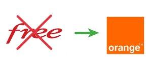 Quitter Free pour Orange
