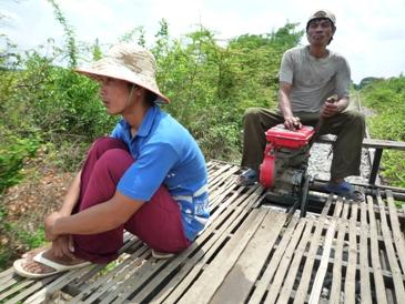 Le bamboo train