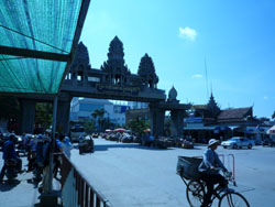 la frontiere du Cambodge