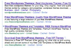 free wordpress themes sur google