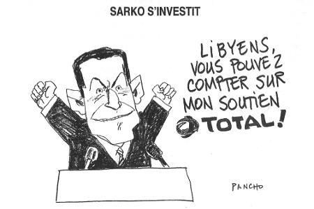 Sarko s'investit