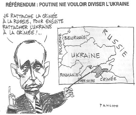 Poutine et la Crimée