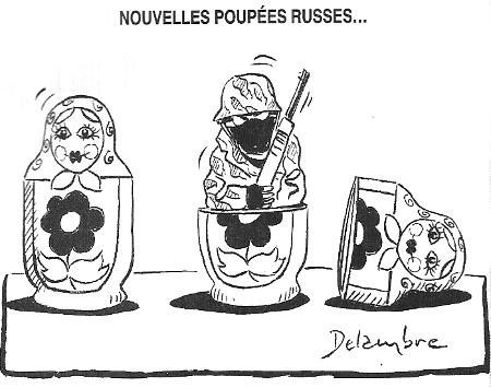 Les nouvelles poupées russes