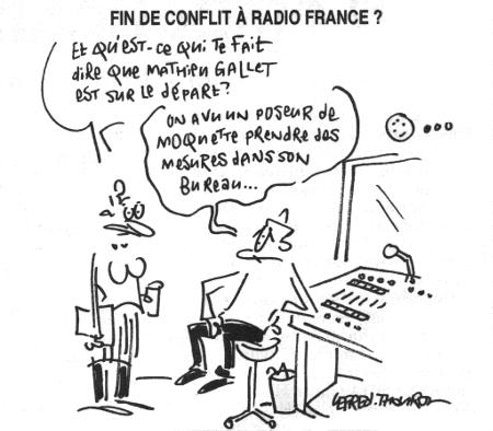 Fin de conflit à Radio France ?