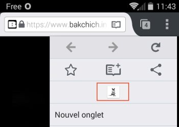 menu firefox sur android
