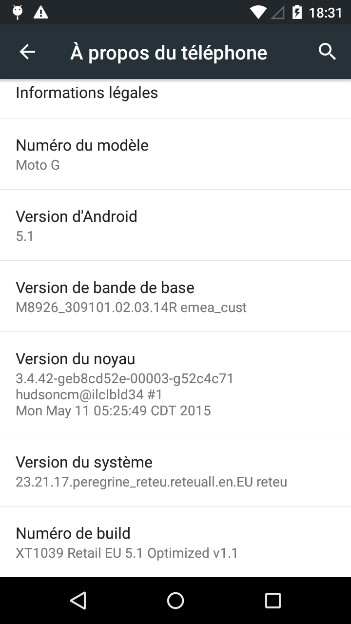 XT1039 peregrine - Android 5.1