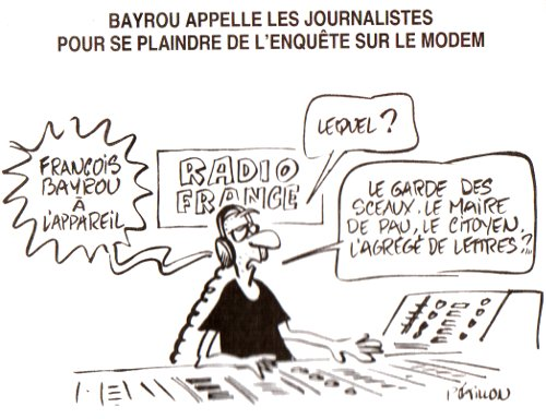 Bayrou et Radio France