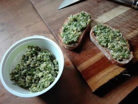 Pesto à tartiner