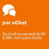eChat Orange : Merci d'avoir discuté avec nous
