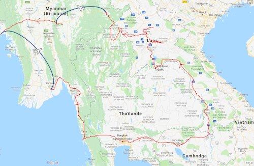 Voyage Asie du Sud-Est 2018, départ imminent
